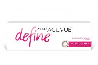 Acuvue 1-Day Define Shimmer (30 Pack)