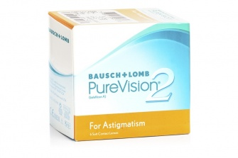 PureVision 2 for Astigmatism (6 Pack)